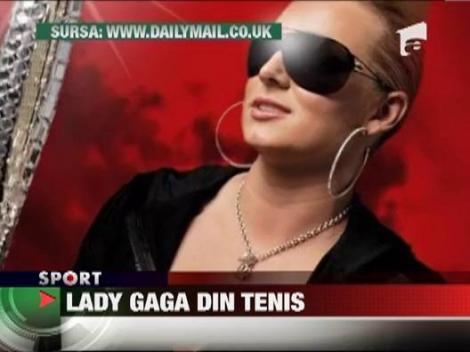 Lady Gaga a tenisului