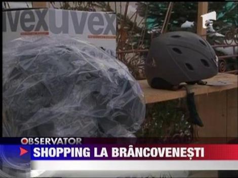 Shopping la Brancovenesti