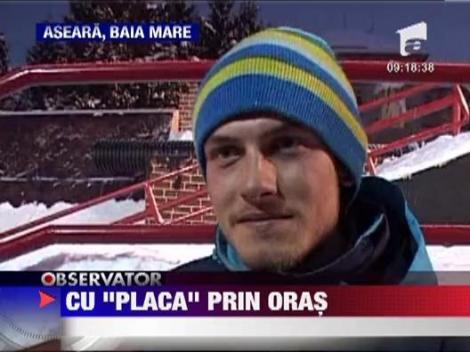 Cei mai buni snowboarderi din Romania s-au adunat la Baia Mare