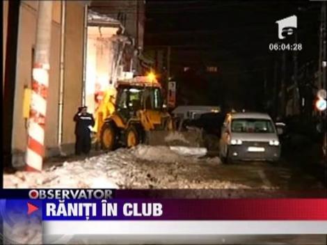 Update/ Doua explozii intr-un club din Sighetu Marmatiei