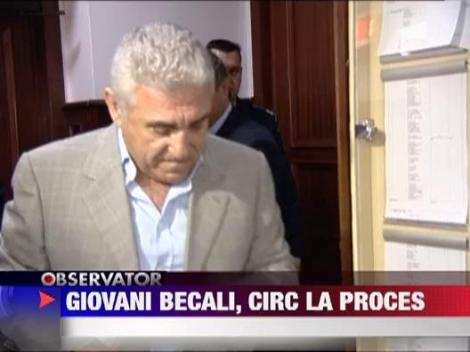 Giovani Becali, scandal monstru la Tribunalul Bucuresti