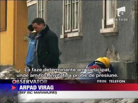 Reteaua de gaze din Sighetu Marmatiei nu are receptia facuta