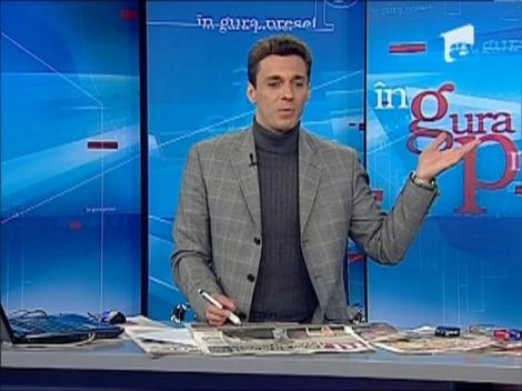 Mircea Badea rade de afisul in care apare Sebastian Lazaroiu