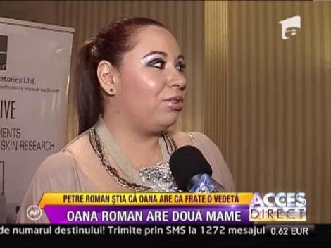 Oana Roman are doua mame