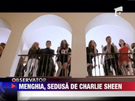 Catrinel Menghia sedusa de Charlie Sheen