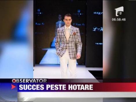 Alexandru Ciucu a avut prima prezentare de moda peste hotare