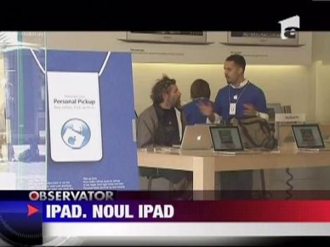 Noua tableta lansata de Apple se numeste iPad