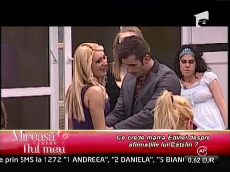 Mama Edinei a criticat relatia de prietenie dintre fiica ei si Andreea