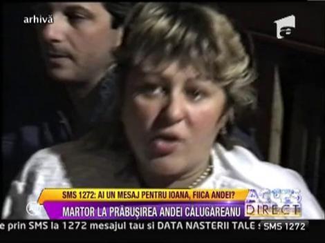 Ileana Popeanu, martor la prabusirea Andei Calugareanu