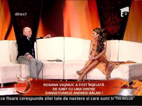 Roxana Vasniuc il iubeste pe actualul mai mult decat pe fostul