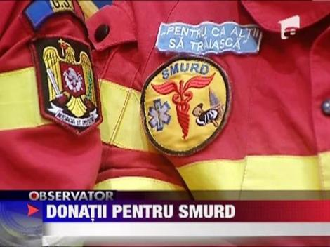 Donatii pentru SMURD