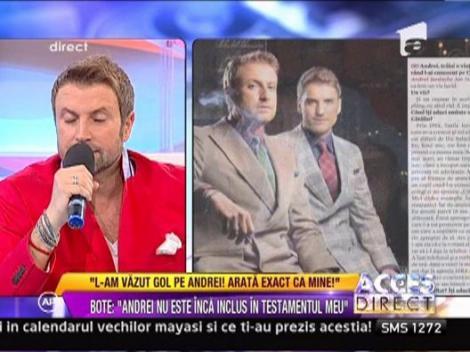 """Catalin Botezatu: """"As vrea ca Andrei sa se insoare cat mai tarziu"""""""