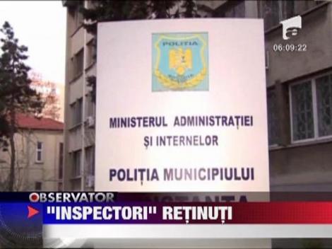 Falsi inspectori la Constanta: Batranica jefuita