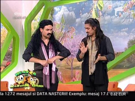Razvan, dansator de flamenco