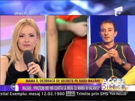 Radu Mazare este o persoana sentimentala