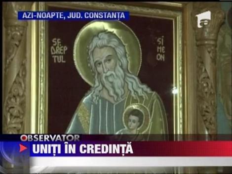 Credinciosii ortodocsi sarbatoresc azi Izvorul Tamaduirii