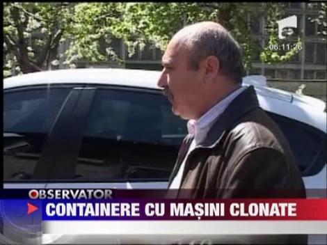 Containere cu masini clonate in Portul Constanta