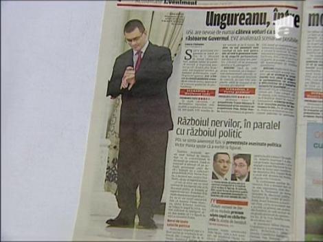 """Mircea Badea: """"Ungureanu se imbraca ca un shaolin"""""""