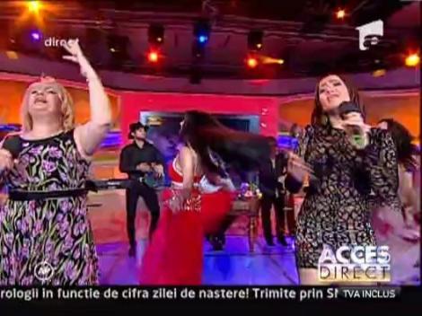 Viorica, Margherita si Ionita de la Clejani au cantat la Acces Direct