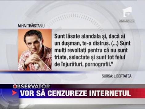 Oana si Trestariu vor sa cenzureze internetul
