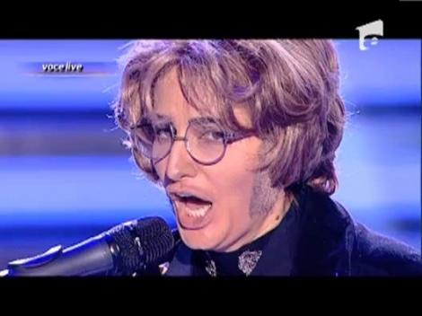 "Julia Jianu, sosia lui John Lennon - "" Imagine"""
