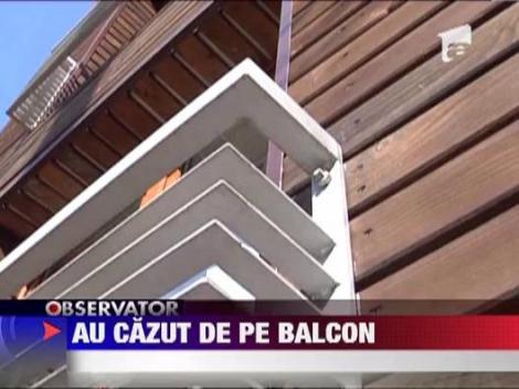 Baia Mare: Doi tineri au cazut de la etaj, cu tot cu balcon
