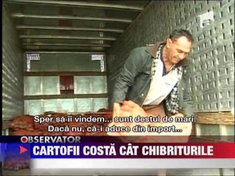 Cartofii costa cat chibriturile, in Brasov
