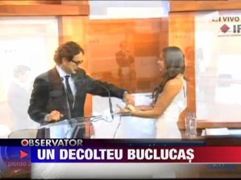 Dezbaterea electorala din Mexic s-a pierdut in rochia prezentatoarei