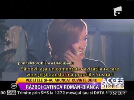 Un nou razboi in showbiz-ul autohton: Catinca Roman si Bianca Dragusanu
