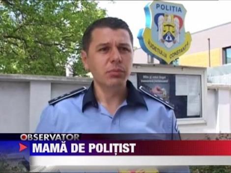 Prinse de o mama de politist