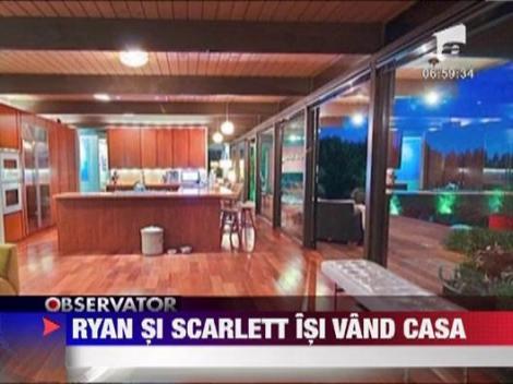 Scarlett Johansson si Ryan Reynolds, si-au scos casa la vanzare
