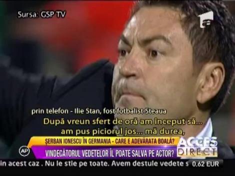 Ilie Stan, vindecat de doctorul Romulus Popescu