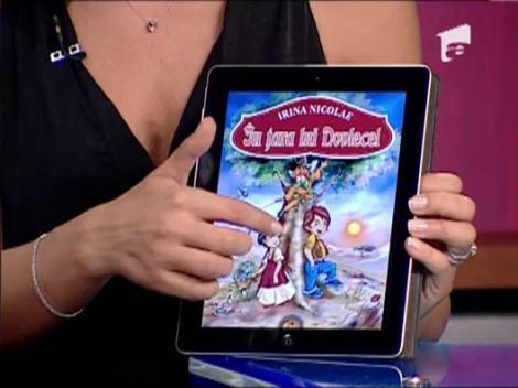 In Tara lui Dovlecel, prima carte interactiva de iPad