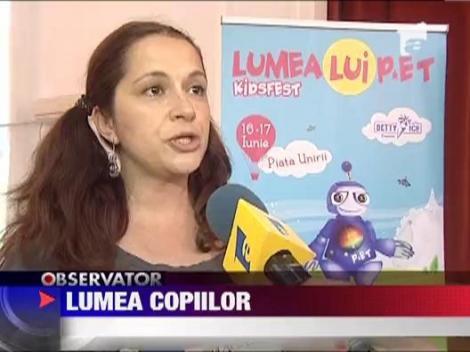 Campanie pentru colectarea deseurilor, de Ziua Copilului