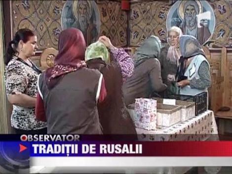 Traditii de Rusalii