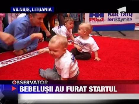 Bebelusii au furat startul