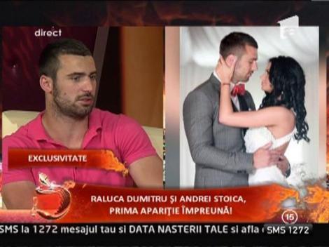 Raluca Dumitru si Andrei Stoica, prima aparitie impreuna