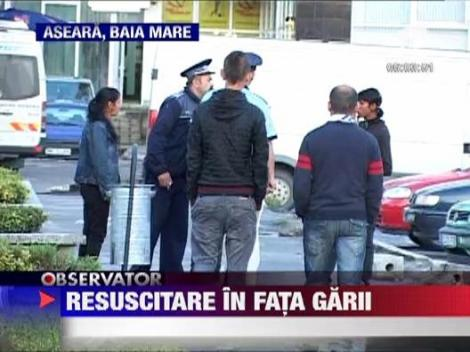 Un barbat de 52 de si-a dat ultima suflare in Gara CFR Baia Mare