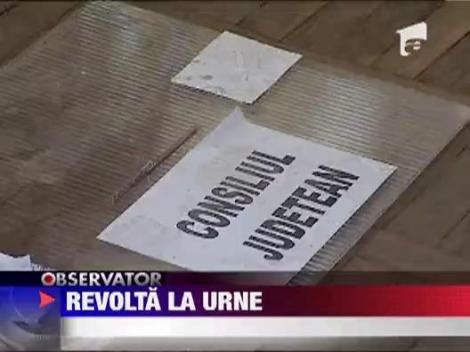 Calarasi: Scandal intr-o sectie de votare