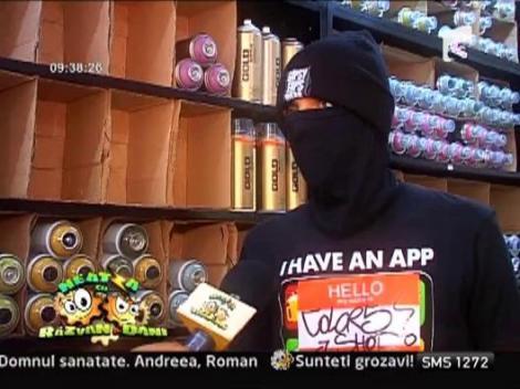 Reportaj IMA: Cultura urbana - graffiti