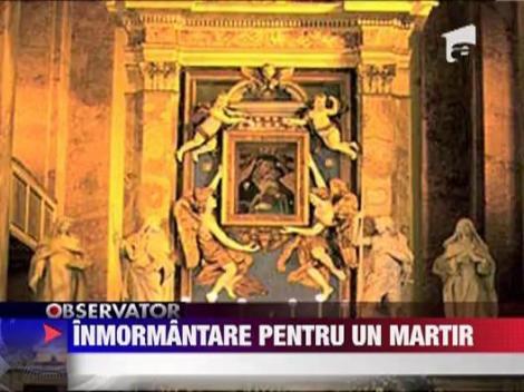 Parintele Tudor Marin va fi inmormantat curtea bisericii pe care a carmuit-o