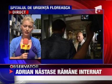Fostul premier Adrian Nastase, in continuare la terapie intensiva