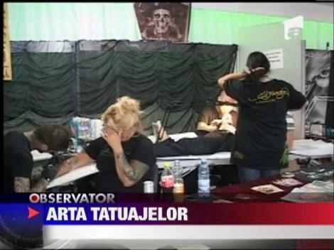 Expertii in arta tatuajelor s-au adunat la Sibiu