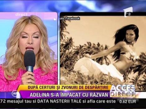 Adelina Pestritu s-a impacat de Razvan