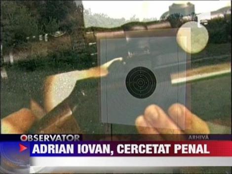 Adrian Iovan, cercetat penal