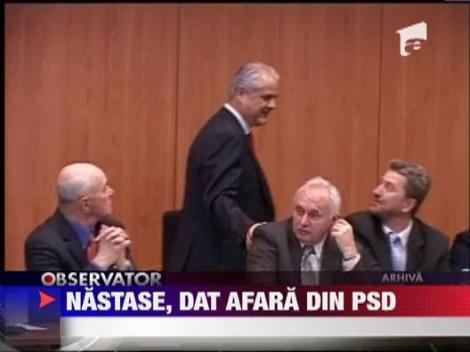 Adrian Nastase, dat afara din PSD