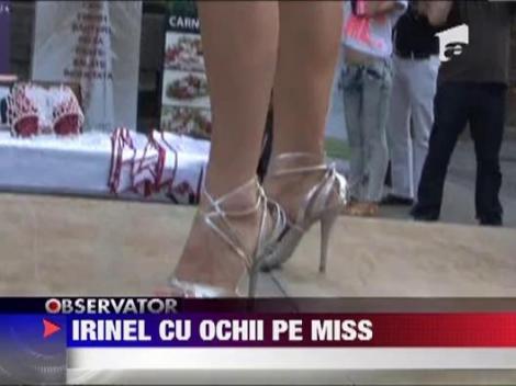 Gata cu politica! Irinel Columbeanu, la Miss European Tourism 2012!