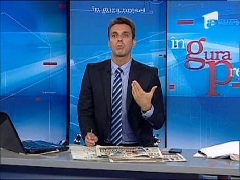 "Mircea Badea: ""CTP e un jurnalist exagerat de prost"""
