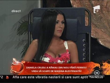 Daniela Crudu a ramas din nou fara permis!