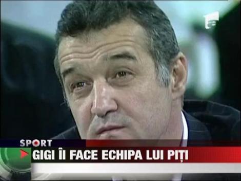 Gigi Becali ii face echipa lui Victor Piturca